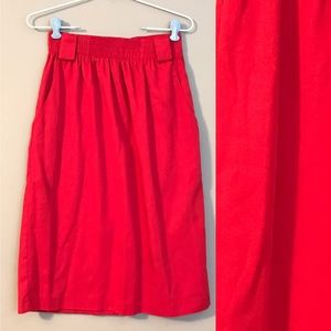 Vintage Res High Waisted Pencil Skirt